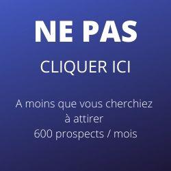 600 prospects / mois